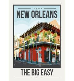 Travel Poster New Orleans