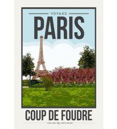 Travel Poster Paris