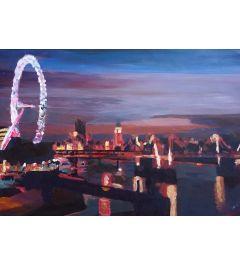 London Eye Night - M Bleichner