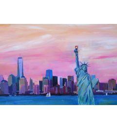 Manhattan Skyline - M Bleichner