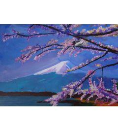 Mount Fuji With Lake - M Bleichner