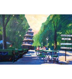 Munchen Chinesischer Turm - M Bleichner