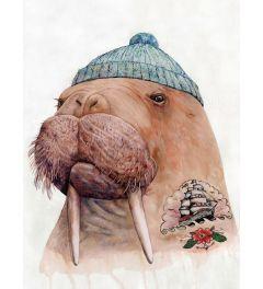 Walrus mit Tattoo