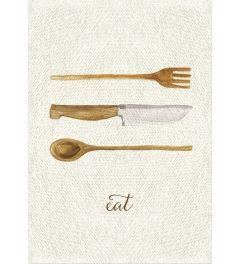 Linen Kitchen Trio - B
