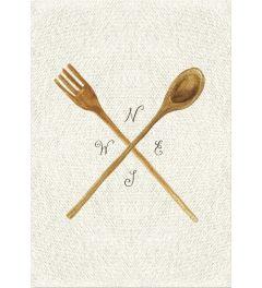 Linen Kitchen Trio - A
