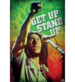 Bob Marley Get Up Stand Up Poster 61x91.5cm