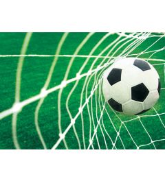 Fußball Goal 4-teilige Fototapete 368x254cm