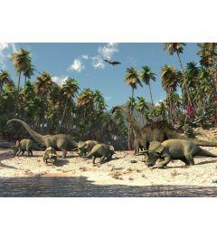 Dinosaurier 1-teilige Vlies-Fototapete 152x104cm