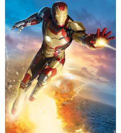 Iron Man 8-teilige Fototapete 200x244cm