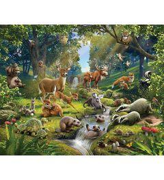 Tieren Wald