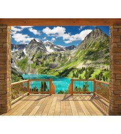 Alpine Mountain 12-delig Fotobehang 305x244cm