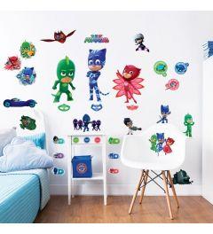 PJ Masks Wandtattoo set