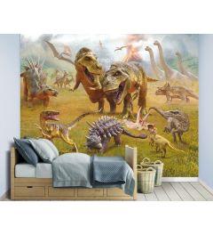 Dinosaurier XXL Fototapete 305x244cm