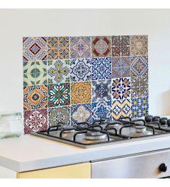 Wandtattoo Azulejos verschiedene Farben 65x47cm