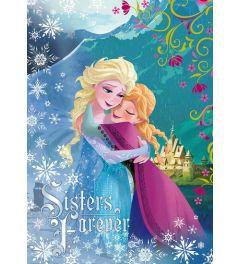 Frozen Sisters Forever 1-teilige Vlies-Fototapete 104x152 cm