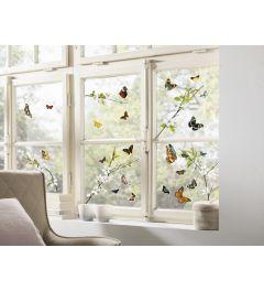 Schmetterlinge Fenstersticker Set