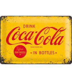 Coca-Cola - Logo - Gelb