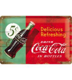 Coca-Cola - Delicious Refreshing - Grun