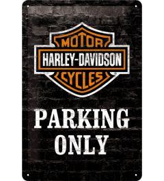 Harley-Davidson - Parking Only