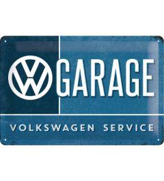Volkswagen - Garage - Blau