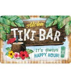 Tiki Bar Blechschilder 20x30cm