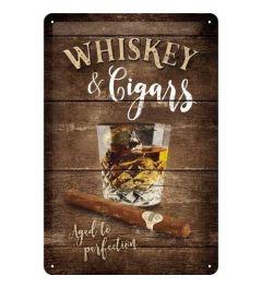 Whiskey Blechschilder 20x30cm