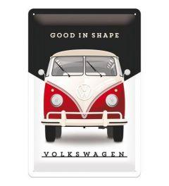 VW Good In Shape Blechschilder 20x30cm