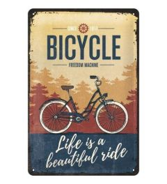 Bicycle Beautiful Ride Blechschilder 20x30cm