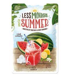 Watermelon Summer Shake Blechschilder 20x30cm