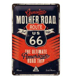 Route 66 The Ultimate Road Trip Blechschilder 20x30cm