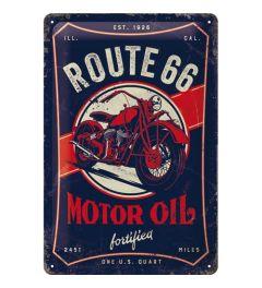 Route 66 Motor Oil Blechschilder 20x30cm