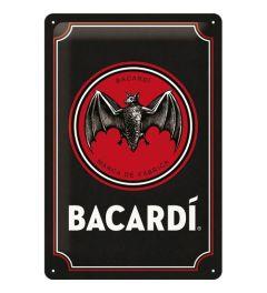 Bacardi Logo Black Blechschilder 20x30cm