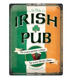Irish Pub Blechschilder 30x40cm