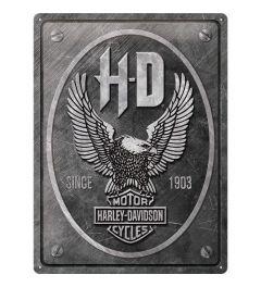 Harley Davidson Metal Eagle Blechschilder 30x40cm
