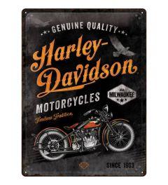 Harley Davidson Timeless Tradition Blechschilder 30x40cm