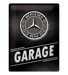 Mercedes Benz Garage Blechschilder 30x40cm
