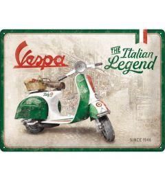 Vespa Italian Legend Blechschilder 30x40cm