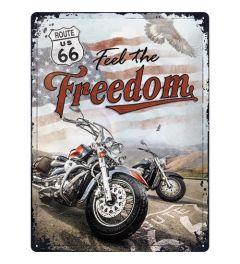 Route 66 Freedom Blechschilder 30x40cm