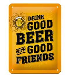 Drink Good Beer 15x20