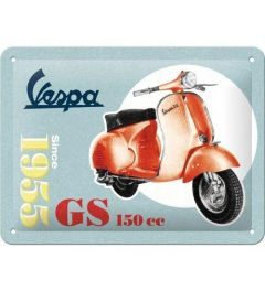 Vespa GS 150 Since 1955 Blechschilder 15x20cm