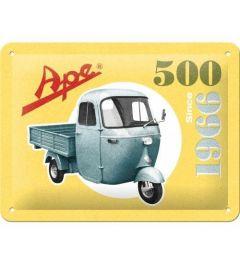 Ape 500 Since 1966 Blechschilder 15x20cm