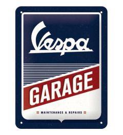 Vespa Garage Blechschilder 15x20cm