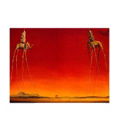 Dali Les Elephants 1948 Kunstdrucke 60x80cm