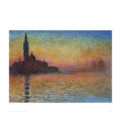 Monet San Giorgio Maggiore By Twil Kunstdrucke 60x80cm