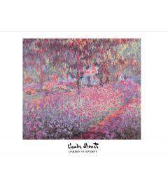 Monet Garden At Giverny Kunstdrucke 60x80cm