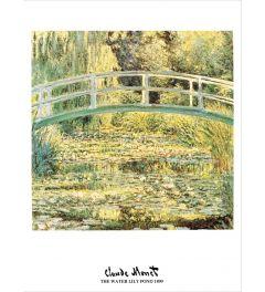 Monet Waterlily Pond 1899 Kunstdrucke 60x80cm