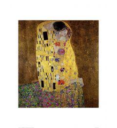 Klimt The Kiss Kunstdrucke 60x80cm
