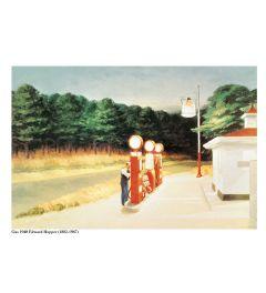 Hopper Gas 1940 Kunstdrucke 60x80cm