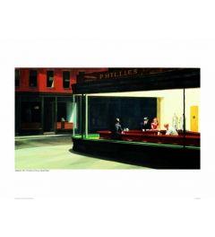 Hopper Nighthawks Kunstdrucke 60x80cm