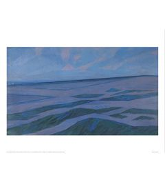 Mondrian Dünenlandschaft Kunstdrucke 60x80cm